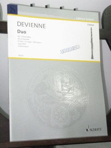 Devienne F - Duo in E Flat Op 69 No 3 for 2 Clarinets